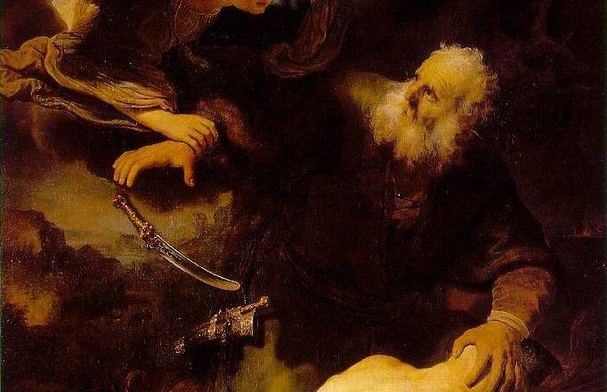 Abraham and Isaac, Rembrandt, 1634